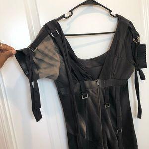 Salvage Zip Up Mini Dress XS